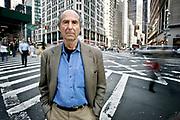 Manhattan, New York, USA, May 23rd 2007:   The American writer Philip Milton Roth.