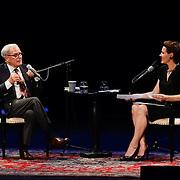 NHPR's Virginia Prescott interviews Tom Brokaw at The Music Hall, May 20, 2015