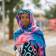 Woman at Fistula Welcome Centre. Kayes Hospital, Mali.