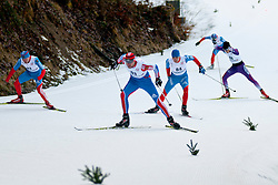 LAPKIN Sergey, RUS, KONONOV Vladimir, MIKHAYLOV Kirill, NITTA Yoshihiro, JPN at the 2014 IPC Nordic Skiing World Cup Finals - Sprint