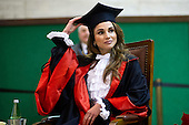 Honorem degree to the queen Rania of Jordan