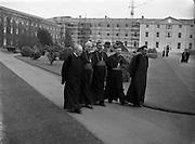 Bishops October Meeting at Maynooth.09/10/1956