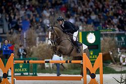 Rutschi Niklaus, (SUI), Windsor XV<br /> Credit Suisse Grand Prix<br /> CHI de Genève 2016<br /> © Hippo Foto - Dirk Caremans<br /> 08/12/2016