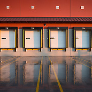 FedEx Ground Facility Seattle, Washington. Industrial Infrastructure- Architectural Photography Example of Chip Allen's work.