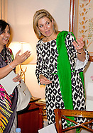 18-11-2015 DHAKA Queen Máxima meets Tarana Halim  state minister of the Post, Telecommunications and Information Technology in the  Pan Pacific Sonargaon Hotel .Queen Máxima visits at the invitation of Bangladesh and as a special advocate of the Secretary-General of the United Nations for inclusive finance for development. COPYRIGHT ROBIN UTRECHT