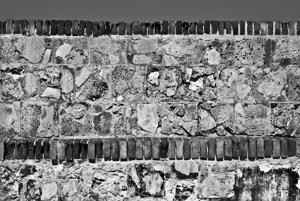 Detail of fort walls