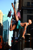 Dance As Art Midtown Manhattan with dancer, Daniel White.