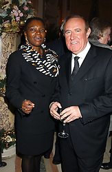 BARONESS AMOS and ANDREW NEIL at The Business Winter Party hosted by Andrew Neil at The Ritz Hotel, Piccadilly, London on 7th December 2005.<br /><br />NON EXCLUSIVE - WORLD RIGHTS