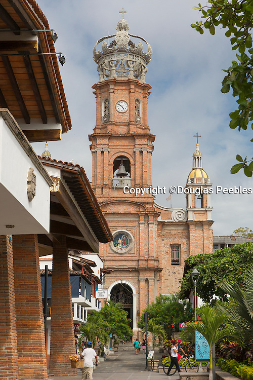Church of Our Lady of Guadalupe ( La Iglesia de Nuestra Senora de Guadalupe), Puerto Vallarta, Jalisco, Mexico
