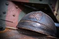 17/07/18 - SAUMUR - MAINE ET LOIRE - FRANCE - Essais Char RENAULT FT17 de 1916 lors des repetitions au Carrousel de Saumur - Photo Jerome CHABANNE