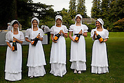 The Goodwood Ball. In aid of Gt. Ormond St. hospital. Goodwood House. 27 July 2011. <br /> <br />  , -DO NOT ARCHIVE-© Copyright Photograph by Dafydd Jones. 248 Clapham Rd. London SW9 0PZ. Tel 0207 820 0771. www.dafjones.com.