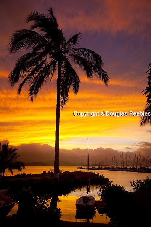 Sunset, Kaneohe, Oahu, Hawaii