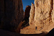 An early morning hike at Bryce Canyon National Park in southern Utah.