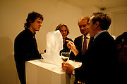 Relics of the Mind.- Private view of work by Katharine Dowson. GV Art, 49 Chiltern st. London. W1. 16 September 2010. -DO NOT ARCHIVE-© Copyright Photograph by Dafydd Jones. 248 Clapham Rd. London SW9 0PZ. Tel 0207 820 0771. www.dafjones.com.