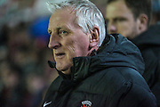 Ronnie Moore (Hartlepool United) during the Sky Bet League 2 match between Accrington Stanley and Hartlepool United at the Fraser Eagle Stadium, Accrington, England on 19 January 2016. Photo by Mark P Doherty.