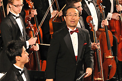 Toshiyuki Shimada on Stage at Woolsey Hall, the Yale Symphony Orchestra performing Parents Weekend Concert at Woolsey Hall, Yale University New Haven CT, on 25 October 2008
