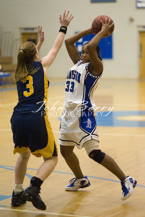 MCHS Varsity Girls Basketball.District Quarter Finals.vs Rappahannock.February 13, 2006