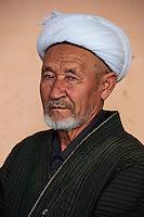 Ouzbekistan, region de Fergana, Marguilan, homme ouzbek // Uzbekistan, Fergana region, Marguilan, Uzbek man