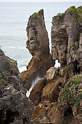 Purakanui rocks, West Coast, New Zealand