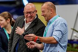 WULFF Volker (Veranstalter), FERCH Heino (Schauspieler)<br /> München - Munich Indoors 2019<br /> Impression am Rande<br /> CSI4* - Championat der Deutsche Vermögensberatung AG -DVAG (Große Tour)<br /> Springprüfung mit Stechen, international<br /> Höhe: 1.50m<br /> 23. November 2019<br /> © www.sportfotos-lafrentz.de/Stefan Lafrentz
