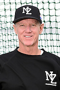 Ron Roenicke - Coach.<br /> New Zealand Diamond Blacks Baseball Team headshots.<br /> Llloyd Elsmore Park, Pakuranga, Auckland, New Zealand. 4 February 2016.<br /> Copyright photo: Andrew Cornaga / www.photosport.nz