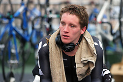 Shae Archbold after being named in the  team for the UCI World Track Cycling Championships, Invercargill Velodrome, Invercargill, New Zealand, Wednesday, March 21 2012. Credit:SNPA / Dianne Manson