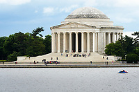 Memorial to the third president of the United States, Thomas Jefferson, Washington D.C., USA