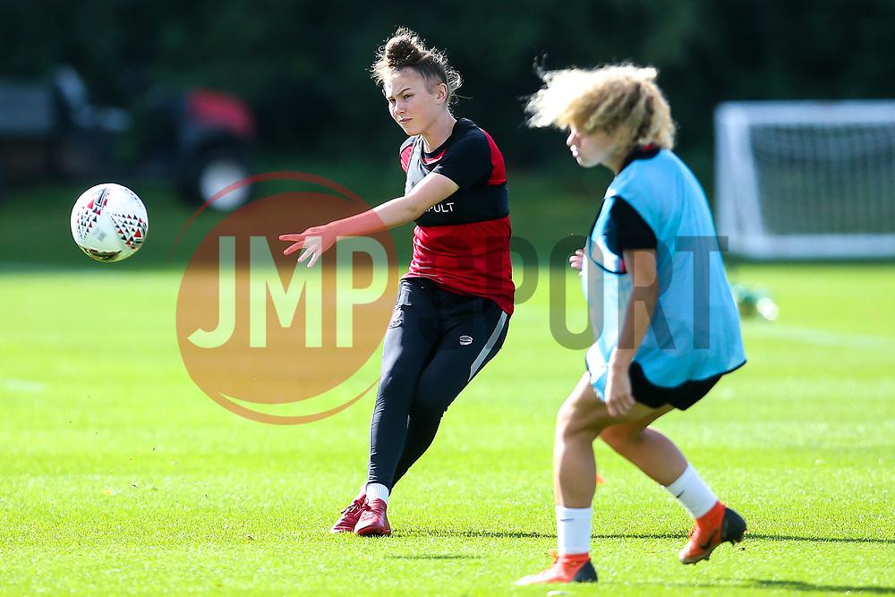 Ellie Strippel of Bristol City Women during training at Failand- Mandatory by-line: Robbie Stephenson/JMP - 26/09/2019 - FOOTBALL - Failand Training Ground - Bristol, England - Bristol City Women Training