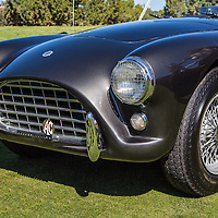 1960 AC Ace (ex-Bristol), in the Shelby Paddock at the 2012 Santa Fe Concorso.