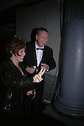 Ruby Wax. The Black and White Winter Ball. Old Billingsgate. London. 8 February 2006. -DO NOT ARCHIVE-© Copyright Photograph by Dafydd Jones 66 Stockwell Park Rd. London SW9 0DA Tel 020 7733 0108 www.dafjones.com