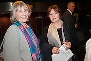 GEMMA JONES; ISLA BLAIR, Vanishing Act exhibition of work by Lalla Ward. National Theatre, South Bank. London. SE1. 9 April 2013.