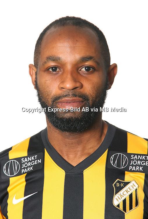 Rene Makondele<br /> Halvfigur<br /> @Leverans<br /> Allsvenskan 2016<br /> Fotboll