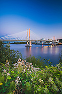 Tilikum Crossing Bridge, Willamette River, Portland, Oregon