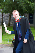 19/06/2014   Olympian Paul Hession was conferred an MB BCh BAO (Bachelor of Medicine) and received a Final Medical Medal for Outstanding Sporting Achievement from NUI, Galway. Photo:Andrew Downes
