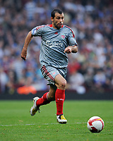 Javier Mascherano<br /> Liverpool 2008/09<br /> Aston Villa V Liverpool (0-0) 31/08/08<br /> The Barclays Premier League<br /> Photo Robin Parker Fotosports International