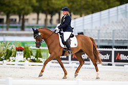 Britta Napel, (GER), Let s Dance 89 - Individual Test Grade II Para Dressage - Alltech FEI World Equestrian Games™ 2014 - Normandy, France.<br /> © Hippo Foto Team - Jon Stroud <br /> 25/06/14