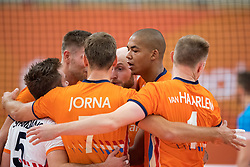 08-09-2018 NED: Netherlands - Argentina, Ede<br /> Second match of Gelderland Cup / Nimir Abdelaziz #14 of Netherlands