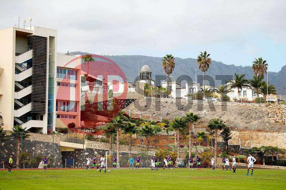 A general view as Bristol City take on Atletico Union Guimar in a pre-season friendly in Tenerife - Mandatory by-line: Matt McNulty/JMP - 22/07/2017 - FOOTBALL - Tenerife Top Training - Costa Adeje, Tenerife - Bristol City v Atletico Union Guimar  - Pre-Season Friendly