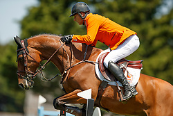Houtzager Marc, NED, Sterrehofs Calimero<br /> Longines FEI Jumping Nations Cup de France<br /> La Baule 2018<br /> © Hippo Foto - Dirk Caremans<br /> 20/05/2018