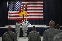 memorial for a dead soldier, Iraq