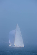 Madcap, 6 Meter Class, sailing in the Robert H. Tiedemann Classic Yachting Weekend race 1.
