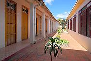 Courtyard of the Hotel Saratoga, San Diego de los Banos, Pinar del Rio, Cuba.