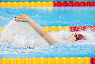 Bethany Firth of Great Britain breaks the World Record and wins Gold in the Women's 100m Backstroke S14 Final on Day One of the Rio Paralympics  in Rio de Janeiro, Brazil<br /> Picture by EXPA Pictures/Focus Images Ltd 07814482222<br /> 08/09/2016<br /> *** UK & IRELAND ONLY ***<br /> <br /> EXPA-SLO-160909-0059.jpg