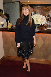 DEBORAH LLOYD at a dinner hosted by fashion label Kate Spade NY held at George, 87-88 Mount Street, London on 19th November 2014.