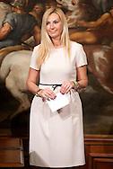 2013/05/03 Roma,  giuramento dei viceministri e dei sottosegretari. Nella foto Micaela Biancofiore..Rome, oath of deputy ministers and undersecretaries. In the picture Micaela Biancofiore - © PIERPAOLO SCAVUZZO