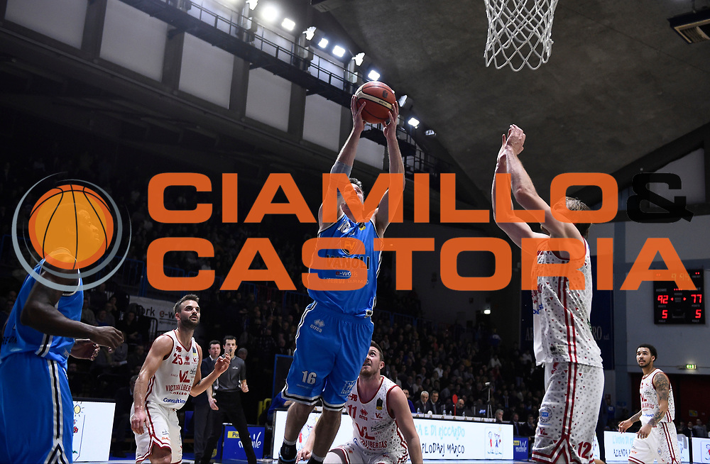 Diener<br /> Vanoli Cremona - Victoria Libertas Pesaro<br /> Lega Basket Serie A 2017/2018<br /> Pesaro, 04/03/2018<br /> Foto A.Giberti / Ciamillo - Castoria