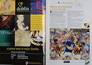 All Ireland Senior Hurling Championship Final,.08.09.2002, 09.08.2002, 8th September 2002,.Senior Kilkenny 2-20, Clare 0-19,.Minor Kilkenny 3-15, Tipperary 1-7,.8092002AISHCF,.Heritage Ireland, John Carroll, Tipperary, Noel Hickey, Kilkenny,