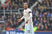 Chris Smalling (12) of Manchester United during the Premier League match between Bournemouth and Manchester United at the Vitality Stadium, Bournemouth, England on 3 November 2018.