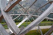 Large Sundial on Elfer Mountain, Neustift im Stubaital, Tyrol, Austria