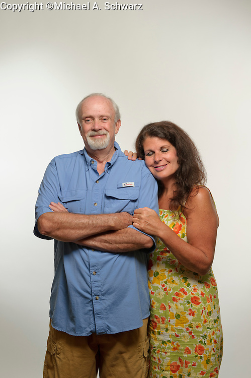 Acworth, GA  Roxann and Doug Crane at their Acworth, GA home, <br /> Photo by Michael A. Schwarz